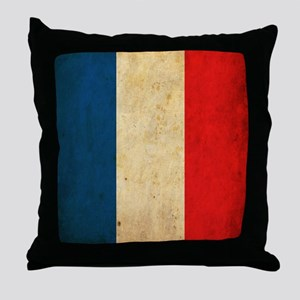 VintageFrance6sc Throw Pillow