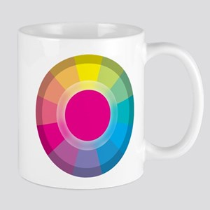 Colour Wheel magneta Mugs
