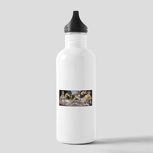 Venus and Mars - Botticelli Water Bottle