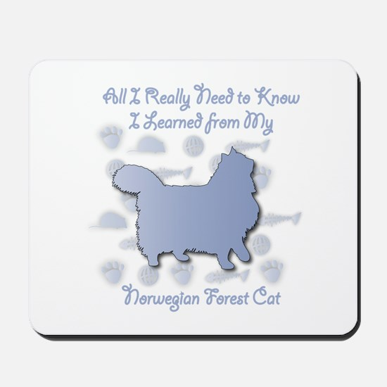 Learned Wegie Mousepad