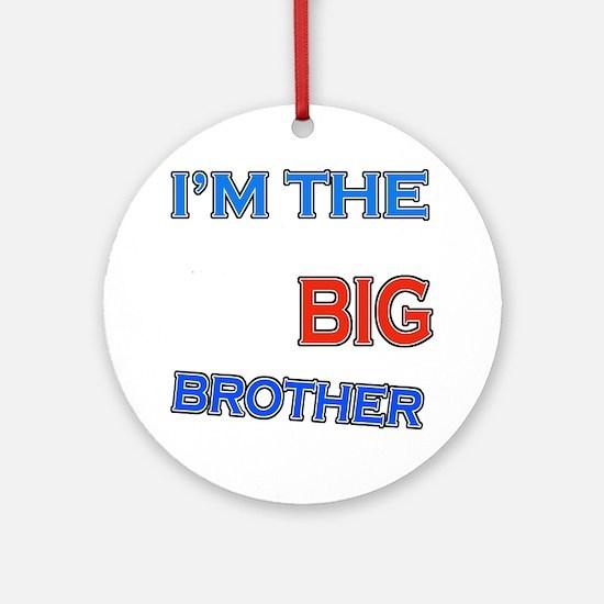 bigbrother-skateboard-black Round Ornament