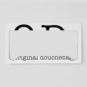 original_douchebag License Plate Holder