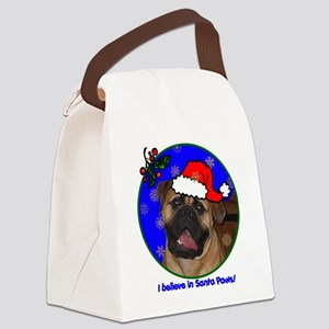 mastiffxmas-shirt Canvas Lunch Bag