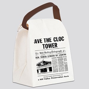 savetheclocktower Canvas Lunch Bag