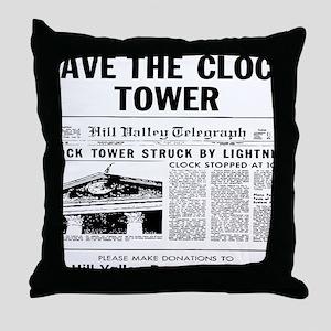savetheclocktower Throw Pillow