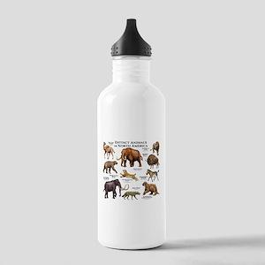 Extinct Animals of North America Stainless Water B