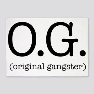 original_gangster 5'x7'Area Rug