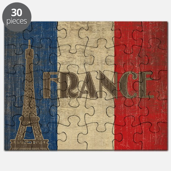 france_fl_Vintage1 Puzzle