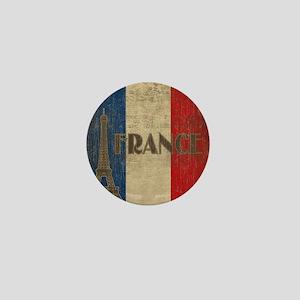 france_fl_Vintage1 Mini Button