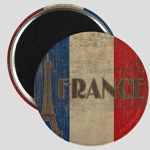 france_fl_Vintage1 Magnet