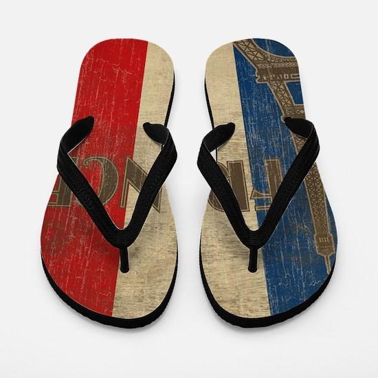 france_fl_Vintage1 Flip Flops