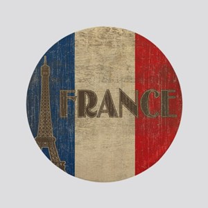 "france_fl_Vintage1 3.5"" Button"