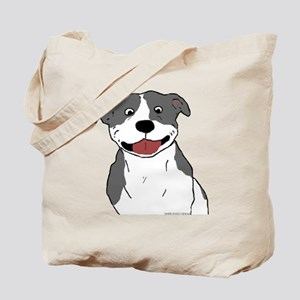 Pit Smile Blue no text Tote Bag