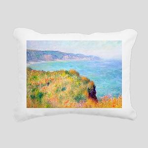 Bag Monet Cliff Rectangular Canvas Pillow