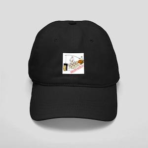 Sled Dog Motivation Black Cap
