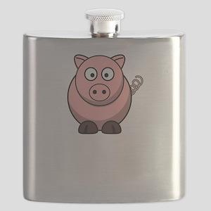 Not Ingredient Pig White Flask