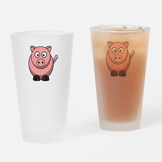 Not Ingredient Pig White Drinking Glass
