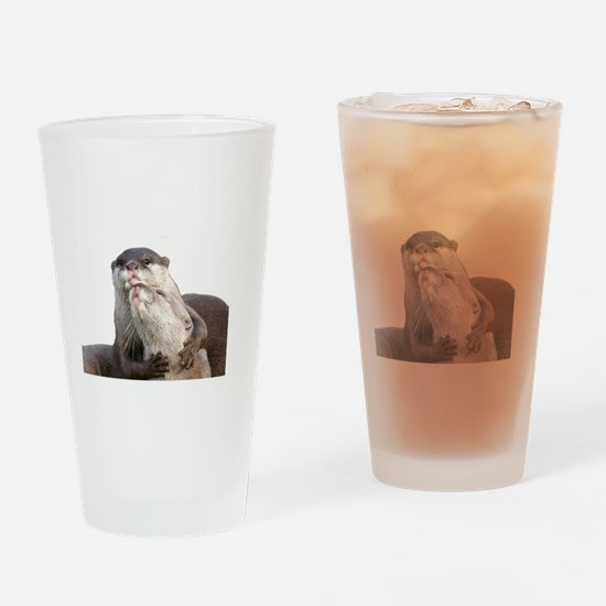 Significant Otter White Drinking Glass