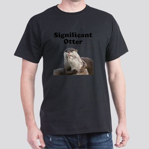 Significant Otter Black Dark T-Shirt