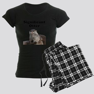 Significant Otter Black Women's Dark Pajamas