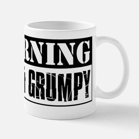 Warning Old And Grumpy Mug