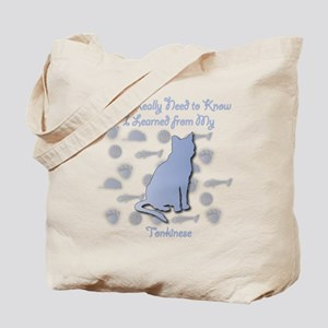 Learned Tonkinese Tote Bag