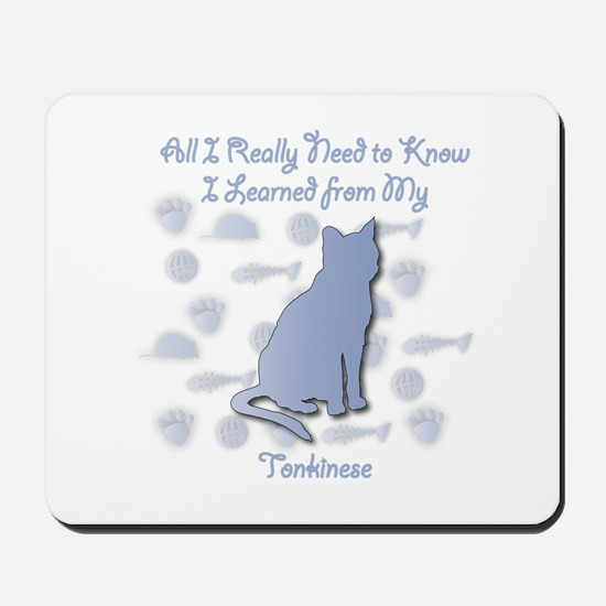 Learned Tonkinese Mousepad