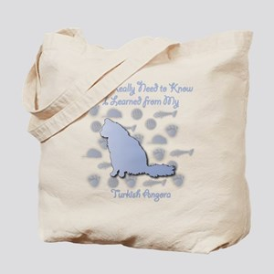 Learned Angora Tote Bag
