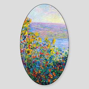K/N Monet FloBeds Sticker (Oval)
