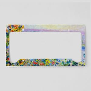 PillCase Monet FloBeds License Plate Holder