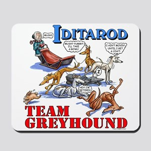 Team Greyhound Mousepad