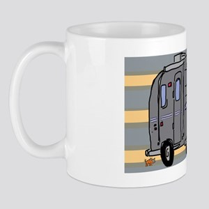 Air stream big dog little dog by Tamara Mug
