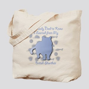 Learned Shorthair Tote Bag