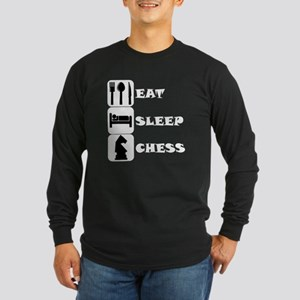 Eat Sleep Chess Long Sleeve T-Shirt