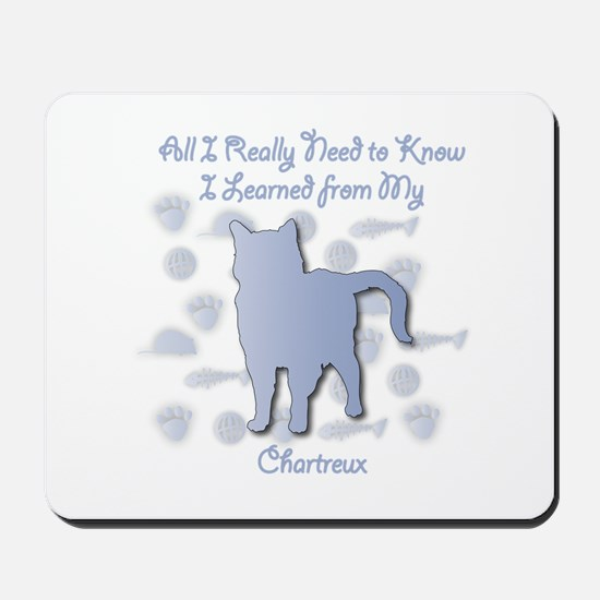 Learned Chartreux Mousepad
