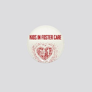 Make a Difference to a Foster Child Mini Button