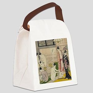 Kiyonaga bathhouse women SC2 Canvas Lunch Bag