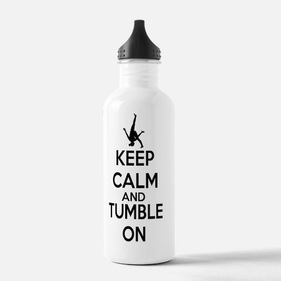 Keep Calm - Gymnastics Water Bottle