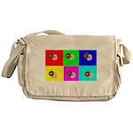 Andy Warhola Bagels Messenger Bag