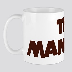 The man cave brown Mug