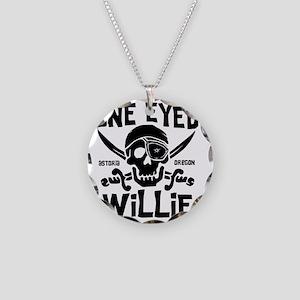 OneEyedWillie Necklace Circle Charm