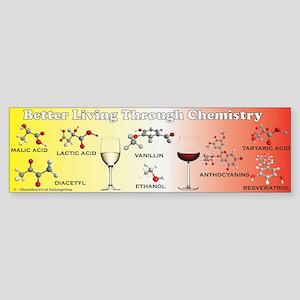 Wine Chemistry Bumper Sticker