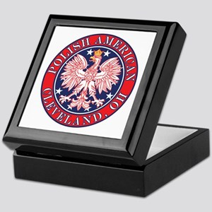 Cleveland Ohio Polish Keepsake Box