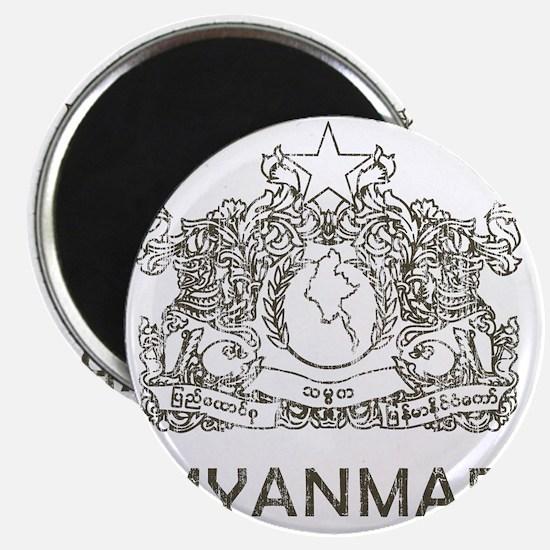 VintageMyanmar2 Magnet