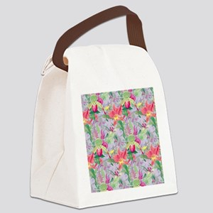 beautifulfloralsipads Canvas Lunch Bag