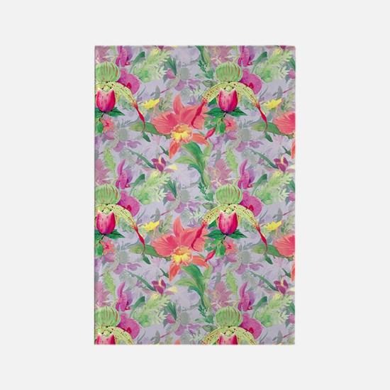 beautifulfloralsipads Rectangle Magnet
