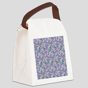 beautifulfloralsipads2 Canvas Lunch Bag