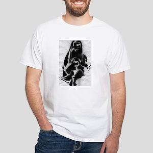 'Starving Rocker' White T-Shirt