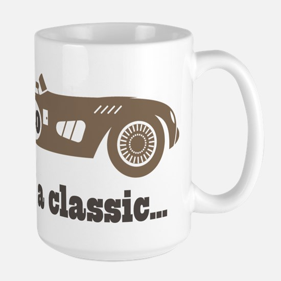 80th Birthday Classic Car Mugs