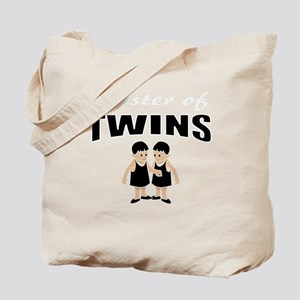 cute sister of twins Tote Bag